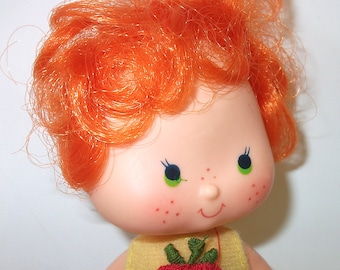 Vintage Apple Dumpling Strawberry Shortcake Doll, Movie Character, Girls doll gift