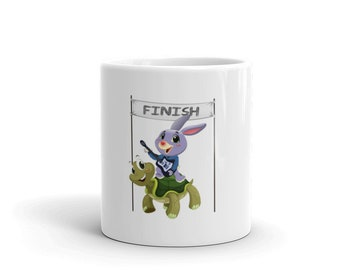 Tortoise & Hare Guitar Coffee Mug