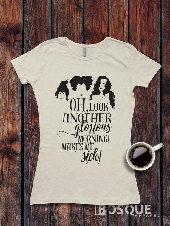 Hocus Pocus Inspired T Shirt Women S T Shirt Top Tee