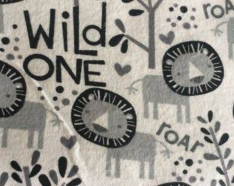 Wild one baby car seat canopy, lion carseat canopy cover, baby shower gift, baby boy, baby girl
