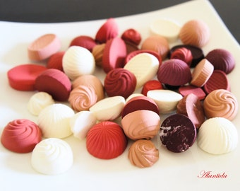 Assorted Fake Chocolate,Set of 25 Fake Chocolate,Display Candy,Artificial Candy