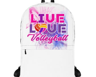 Live Love Volleyball Backpack
