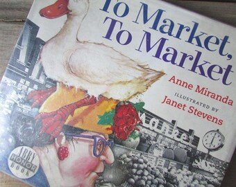 To Market To Market by Anne Miranda Children's Picture Book Nursery Rhyme