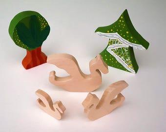 Wooden Toys - Animal Family - Dragon