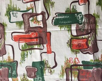 Design Caravan Vintage Barkcloth Fabric