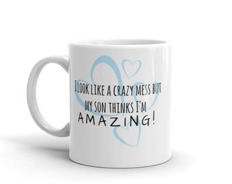 Amazing Mom Mug (son)