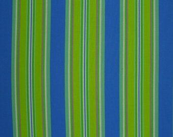 Dena Designs Monaco  Narrow Stripe Blue   1\/2 yard