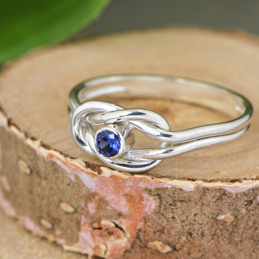 infinity knot birthstone ring knot promise ring friendship. Black Bedroom Furniture Sets. Home Design Ideas