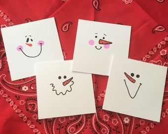 Small Snowman Holiday Cards
