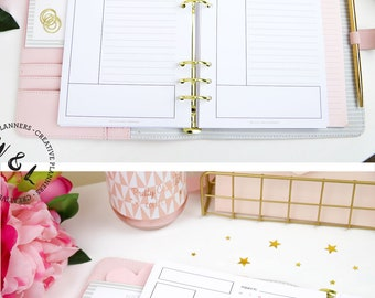 Printed Cornell Notes, Student Planner, To Do List, College Planner, Meeting Notes, Planner Refill, A5 planner inserts, Planner refill