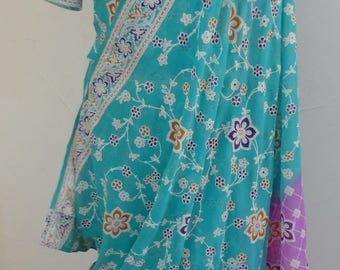 Indian sari with bustier and skirt (ready to wear)