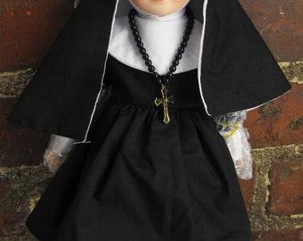 Porcelain Nun Doll 12 inch