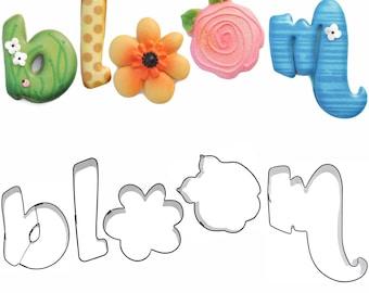 Sweet Elite Bloom Cookie Cutter Set By Blyss Cookies