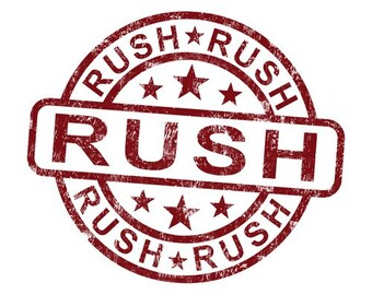 RUSH ORDER OPTIONS