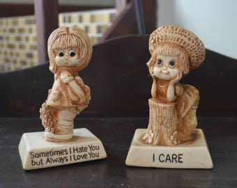 Set of 2 figurines from W & R Berries...1975 and 1976