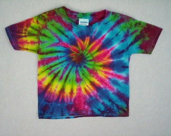 Childrens-Spiral Tie Dye Youth Small