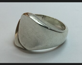 Silver Ring: Made in Mexico/Sterling Silver