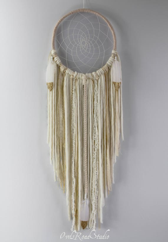 Sol Boho Xl Gold Dream Catcher Extra Large Dream Catcher