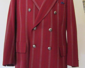 Men's 1950s Vintage Double Breated Sports Jacket