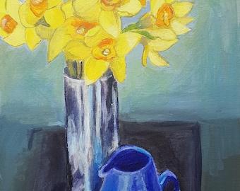 Daffodils still life