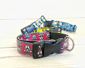 Bordeaux collar (medium sized dogs)