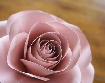 Templates+Pro-Tips* on Paper Rose - Small and Medium Rose -  Sophie b Décor