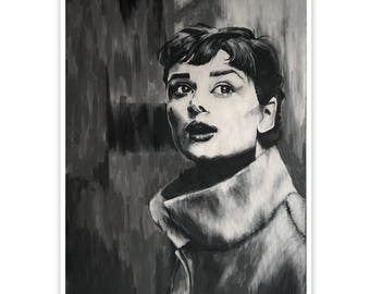 Audrey in Light fine art giclee print