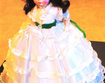 1980s Madam Alexander Scarlett from Gone with the Wind Doll w Original Box #1590, 13""