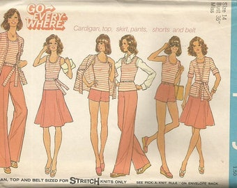 Vintage Simplicity 6973 Go Every Where Separates Pattern SZ 14  CLEARANCE ITEM