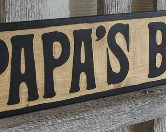 Papa's Barn sign