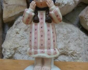 VTG 1983 Enesco Country Fair Patsy figurine Christina Mae Risley