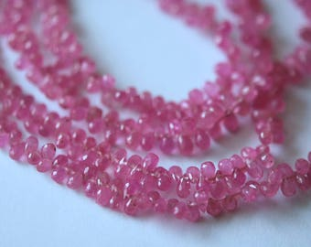 Supe quality pink sapphire tiny tear drops