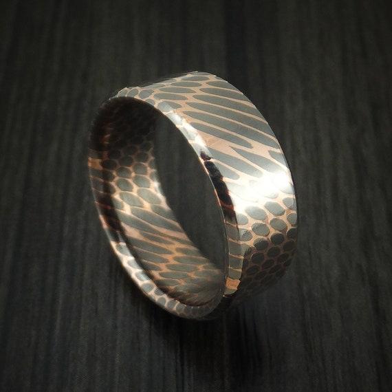 Superconductor Ring Custom Made TitaniumNiobium and Copper