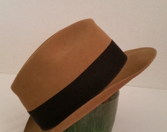 Fedora Style Mens Hat Royal Stetson size 7 5/8