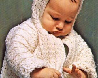 Baby Crochet Pattern, Crochet Baby Sweater Pattern, Baby Sweater Jacket  Crochet Pattern, INSTANT Download Pattern PDF (1335)