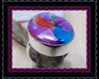 Dichoric Glass Ring