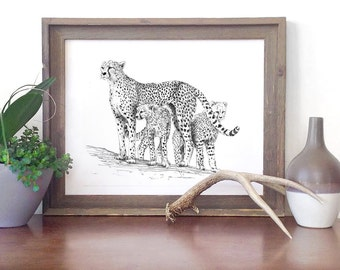 Cheetah Printable - Nursery Series