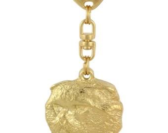 Cat, millesimal fineness 999, cat keyring, keychain, limited edition, ArtDog