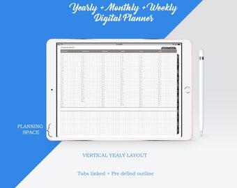 Dated Digital planner 2018 [YMW_V1]