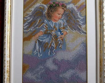 Angel with Dove.