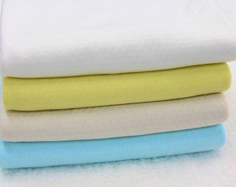 Pointelle Knit Fabric in 4 Colors By The Yard