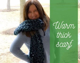 Warm,thick scarf