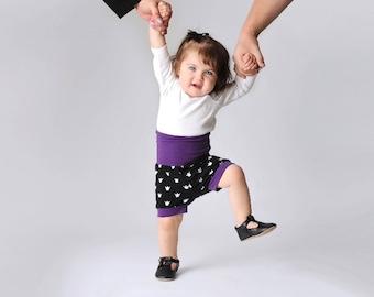 Short pour bébé / Shorty / Couronne apparel impression / bébé / short shorts / main Short