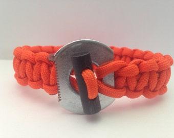 Custom Paracord Fire Bracelet