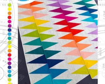 Spikey Quilt Pattern