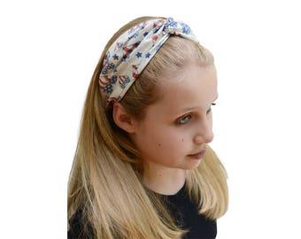 Patriotic Headband - Patriotic Outfit - USA Headband - America Headband - Red White and Blue - Fourth July Headband - Patriotic Headbands