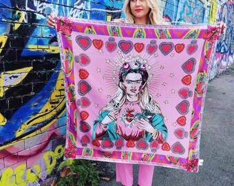 Frida Oversized Scarf