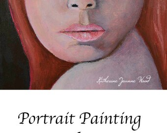 Oil Portrait Painting. Original Red Head Female Portraiture Art. Home Wall Art Decor. Gift for Women. Oil Portrait Wall Decor.