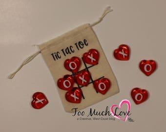 Cute Tic Tac Toe - Pocket Sized