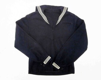Vintage U.S. Navy Wool Jumper. Circa 1950's - 1960's.
